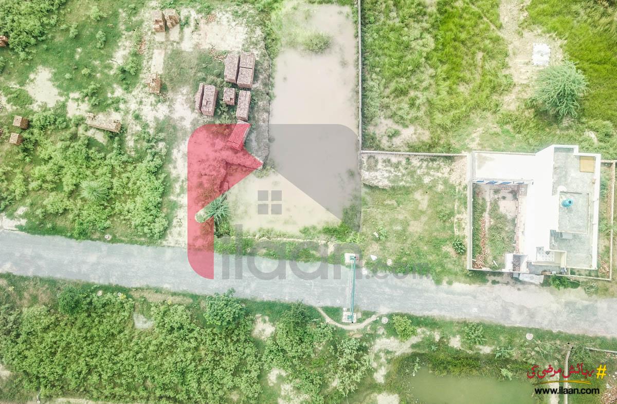 3 Marla Commercial Plot for Sale in Al e Fazal Farm House, Jia Bagga Road, Lahore