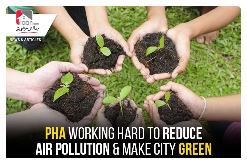 PHA working hard to reduce air pollution & make city green