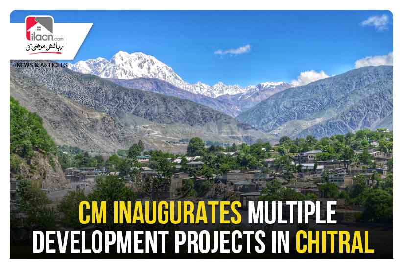 CM inaugurates multiple development projects in Chitral