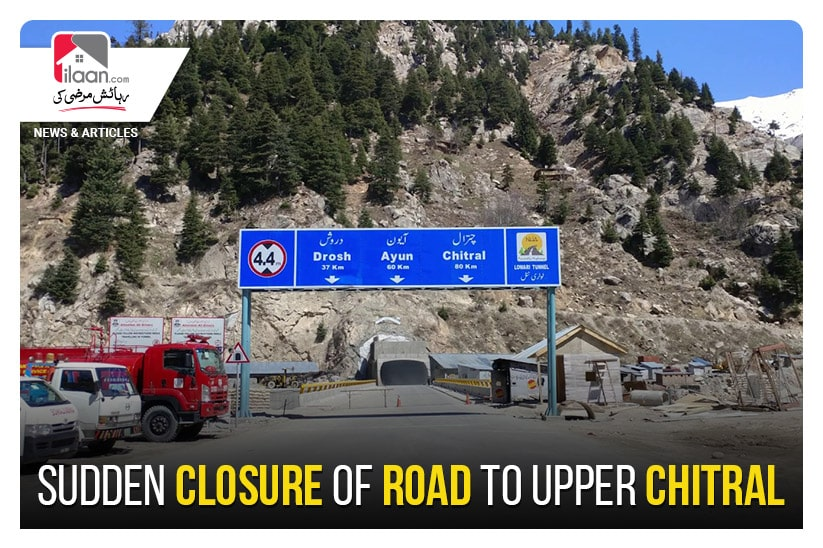Sudden closure of Road to Upper Chitral