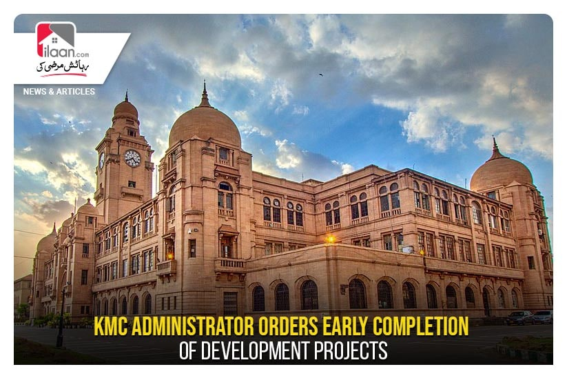KMC administrator orders early completion of development projects