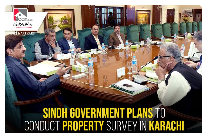 Sindh government plans to conduct property survey in Karachi