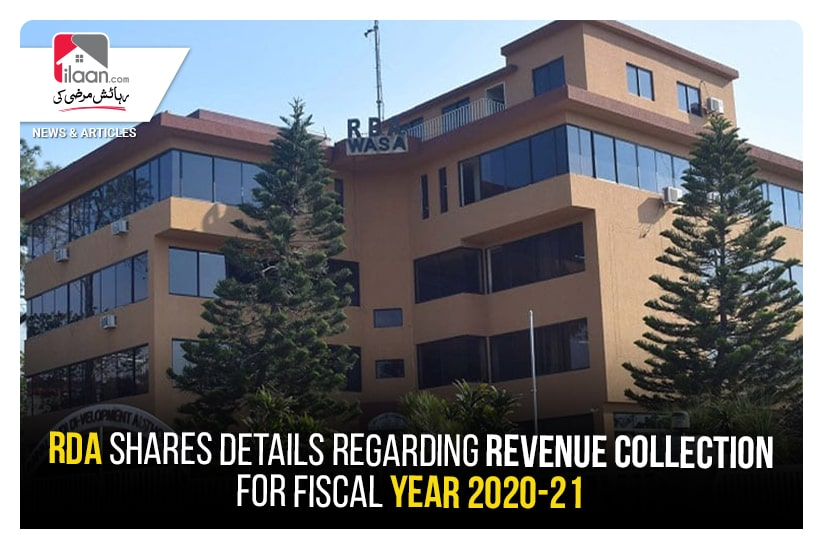 RDA shares details regarding revenue collection for fiscal year 2020-21