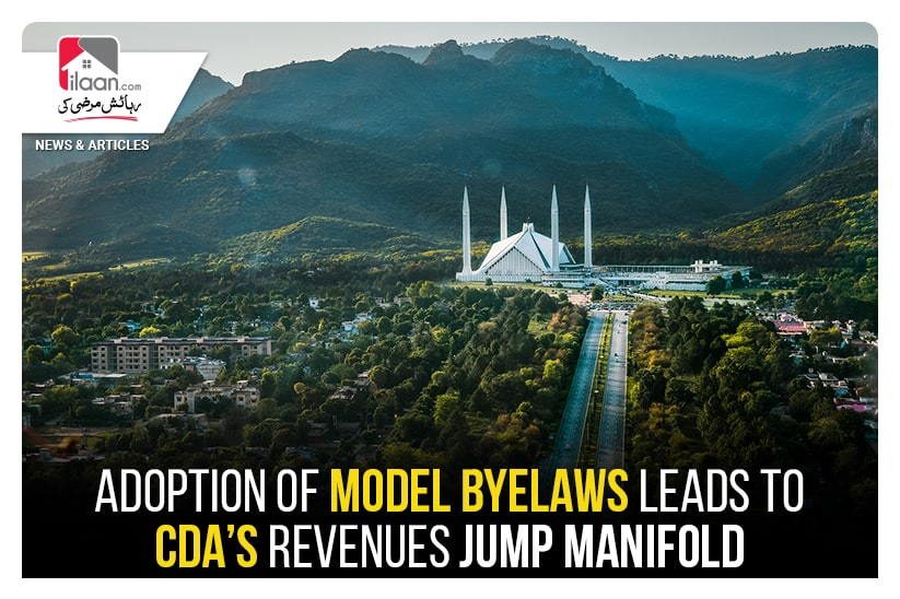 Adoption of Model Byelaws leads to CDA's revenues jump manifold