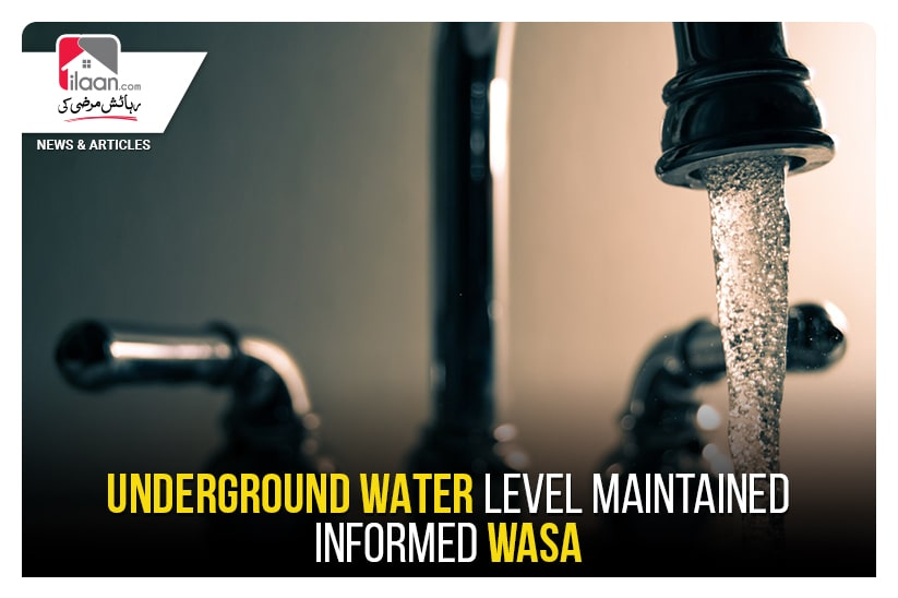 Underground Water level maintained -Informed WASA