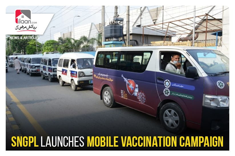 SNGPL launches mobile vaccination campaign