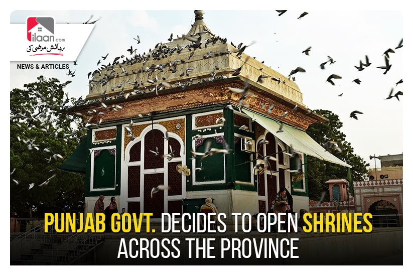 Punjab Govt. decides to open shrines across the province