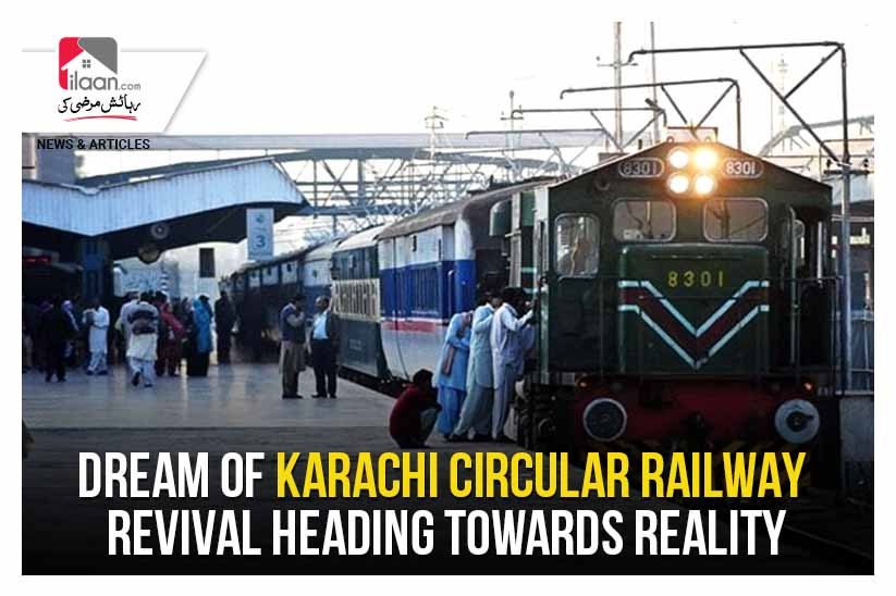 Dream of Karachi Circular Railway revival heading towards reality
