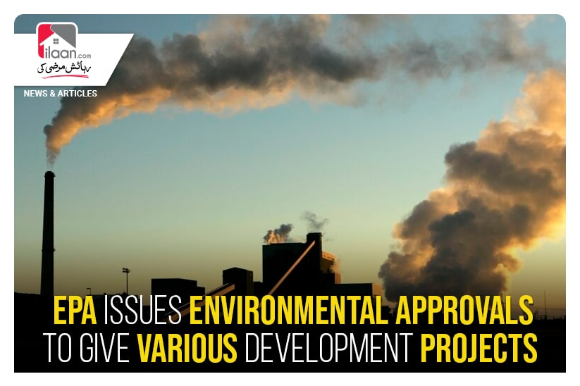 EPA issues environmental approvals to give various development project
