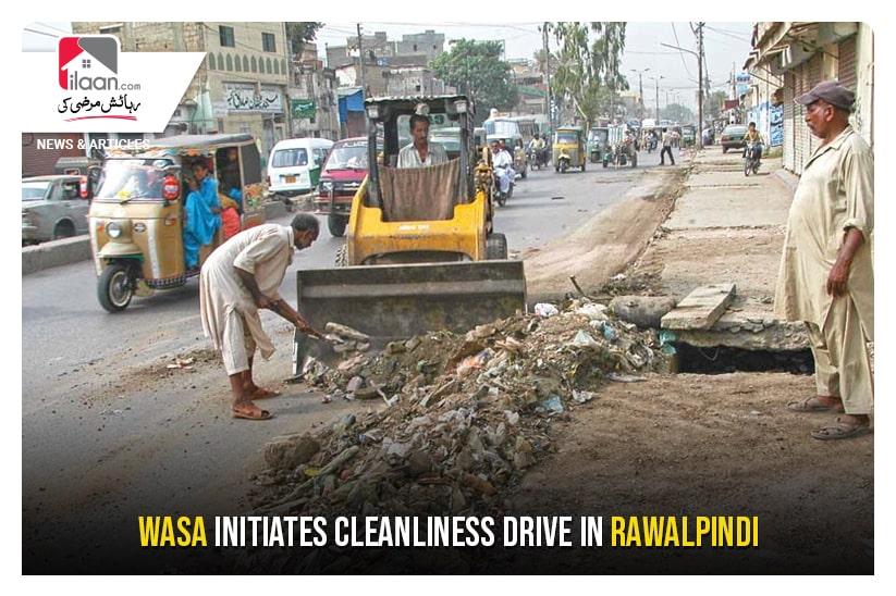WASA initiates cleanliness drive in Rawalpindi