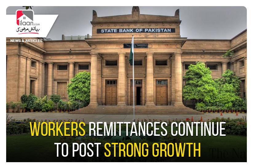 Workers' remittances continue to post strong growth