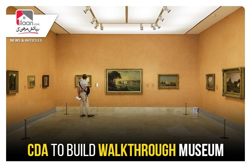 CDA to build walkthrough museum