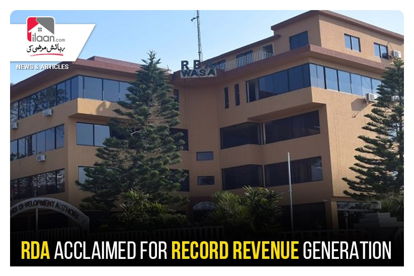 RDA acclaimed for record revenue generation