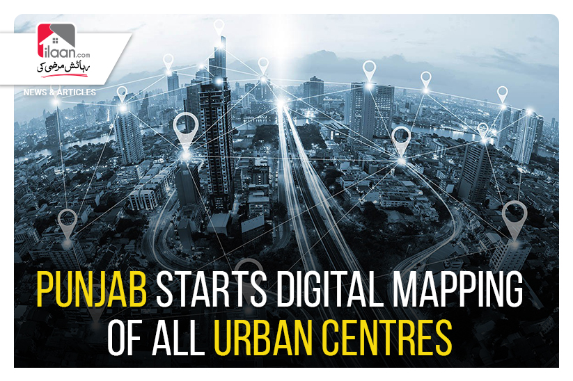Punjab Starts Digital Mapping of All Urban Centres