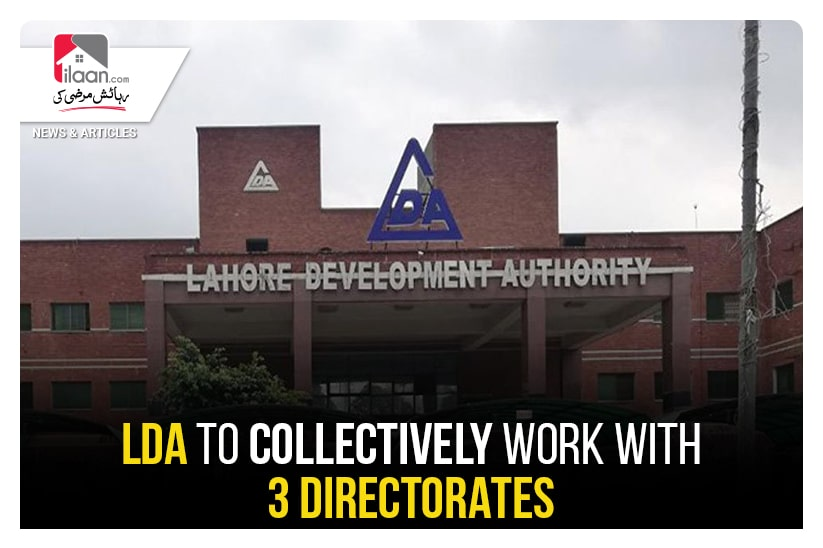 LDA to collectively work with 3 directorates