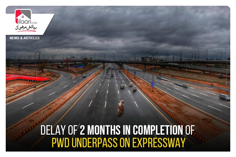Delay of 2 months in completion of PWD underpass on Expressway