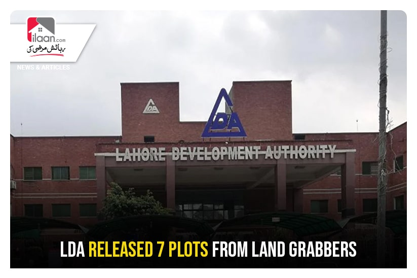 LDA released 7 plots from Land Grabbers