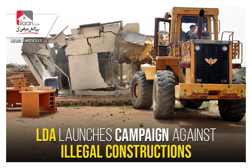 LDA launches campaign against illegal constructions