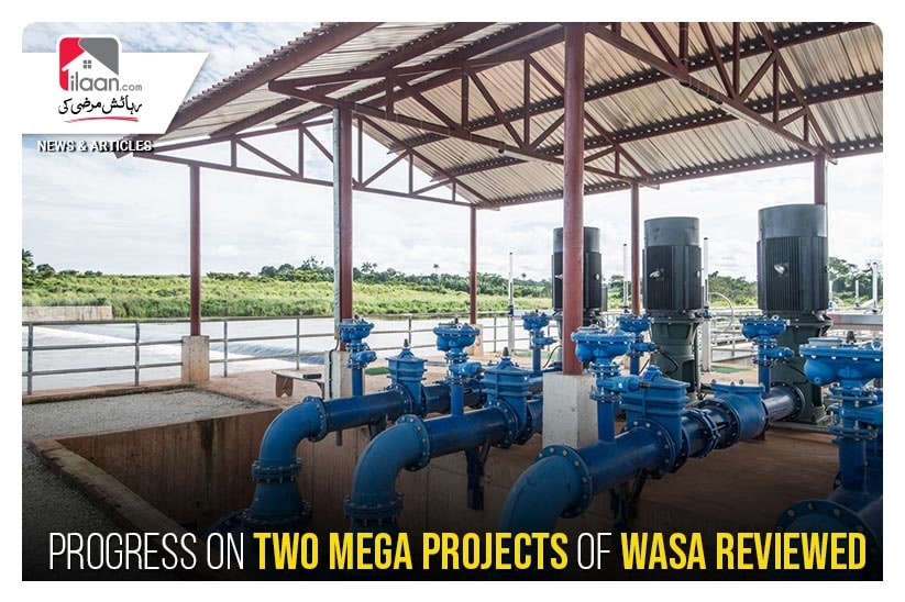 Progress on two mega projects of Wasa reviewed