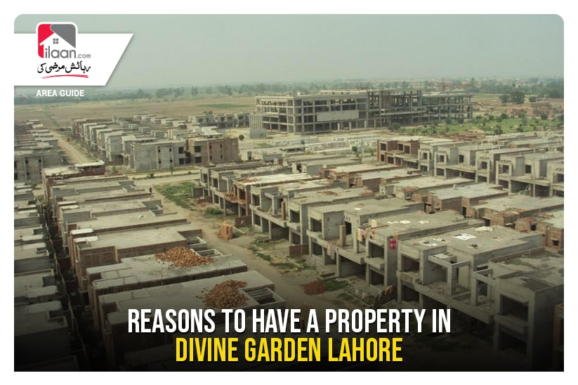 Reasons to have a Property Divine Gardens Lahore