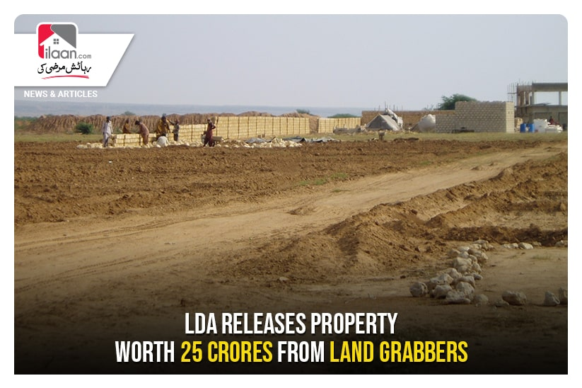 LDA releases property worth 25crores from land grabbers