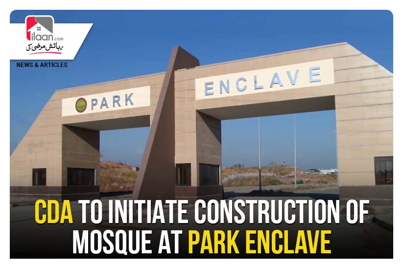 CDA to initiate construction of mosque at Park Enclave