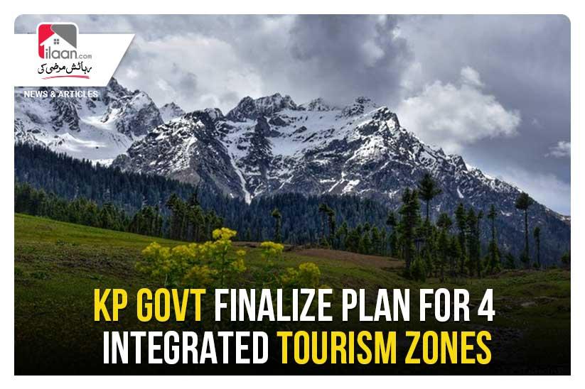 KP govt. finalize plan for 4 integrated tourism zones