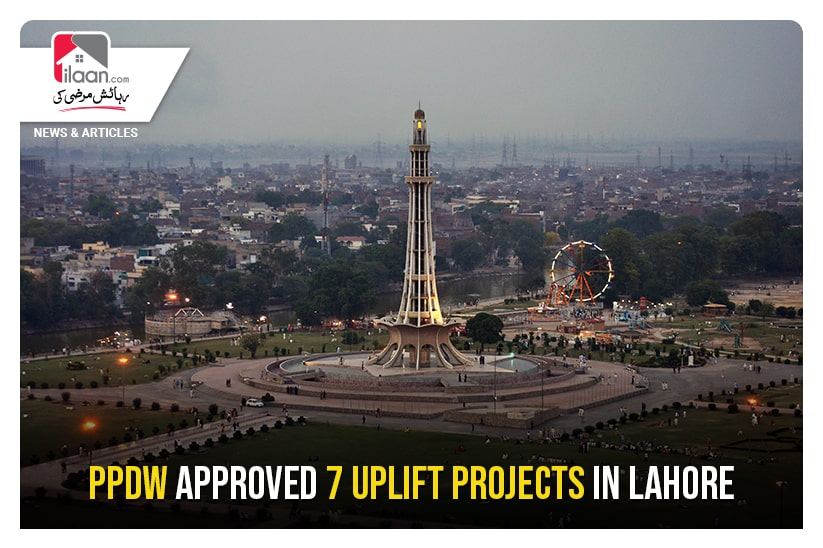 PPDW approved 7 uplift projects in Lahore
