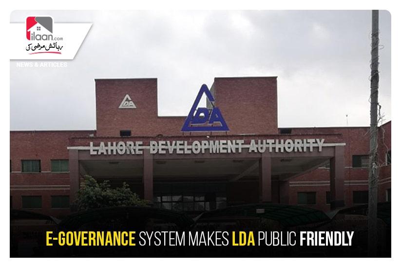 E-governance System makes LDA public friendly