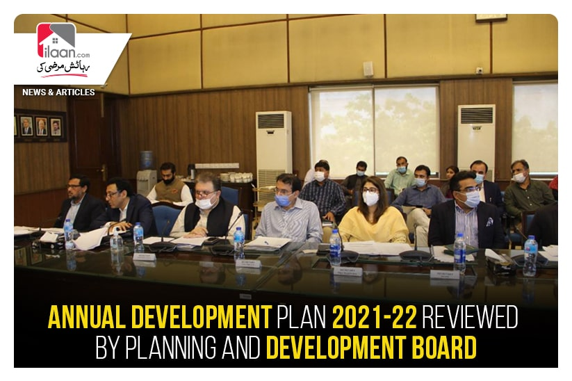 Annual Development Plan 2021-22 reviewed by Planning and Development Board