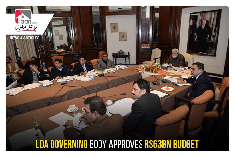 LDA governing body approves Rs63bn budget