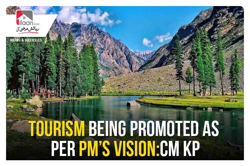 Tourism being promoted as per PM's vision: CM KP