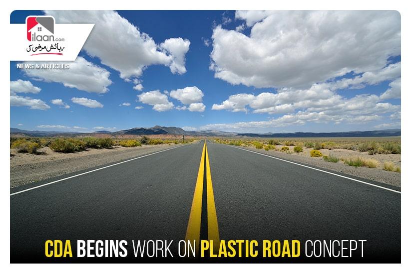 CDA begins work on plastic road concept