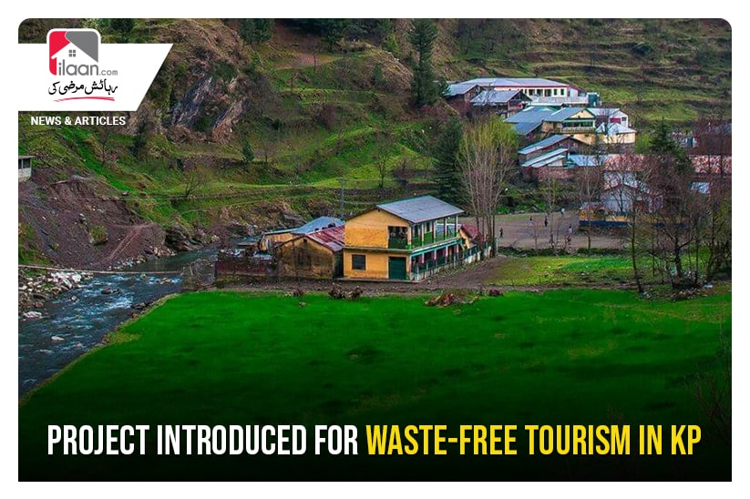 Project introduced for waste-free tourism in KP