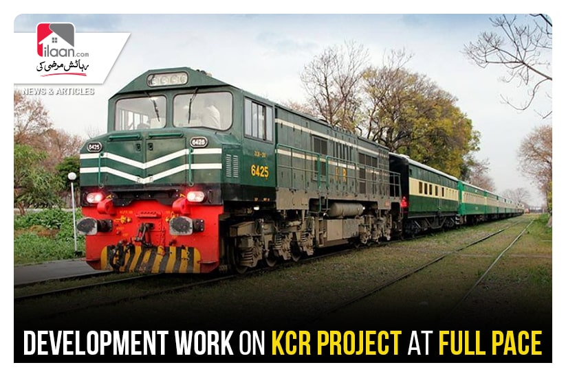 Development work on KCR project at full pace
