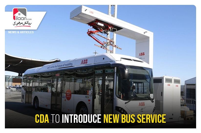 CDA to introduce new bus service