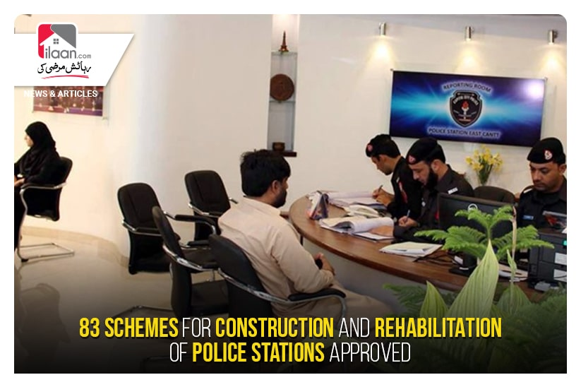 83 schemes for construction and rehabilitation of police stations approved