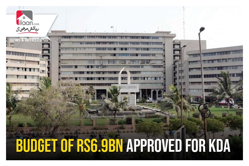Budget of RS6.9bn approved for KDA