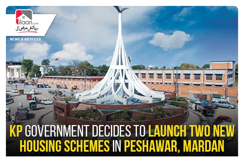 KP government decides to launch two new housing schemes in Peshawar, Mardan