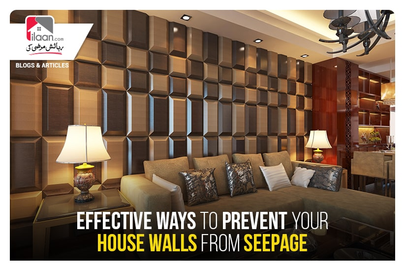 Effective ways to prevent your house walls from seepage