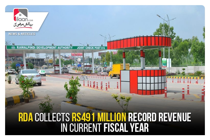 RDA collects Rs491 million record revenue in current fiscal year