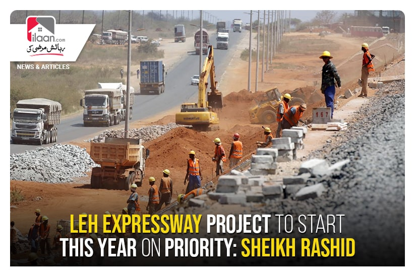 Leh Expressway project to start this year on priority: Sheikh Rashid