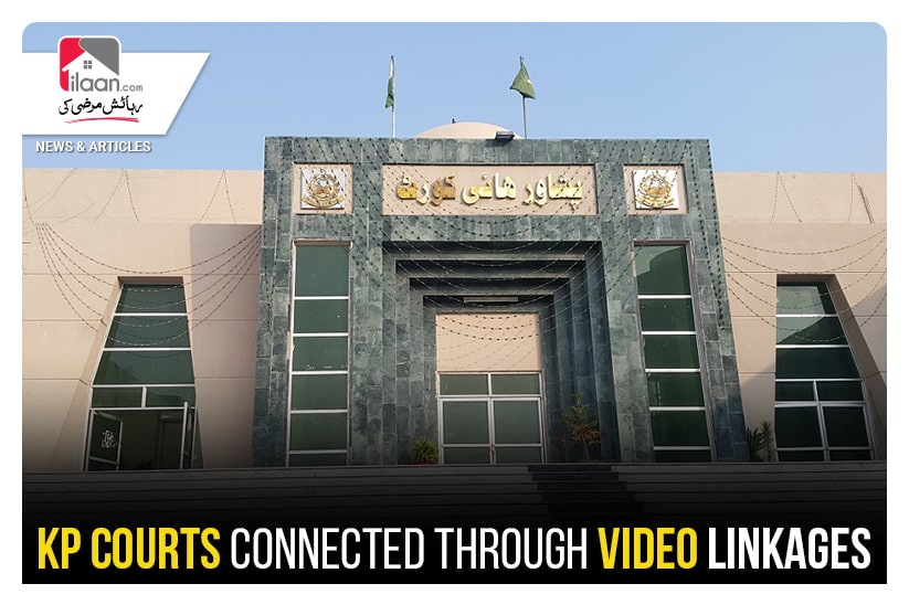 KP courts connected through video linkages