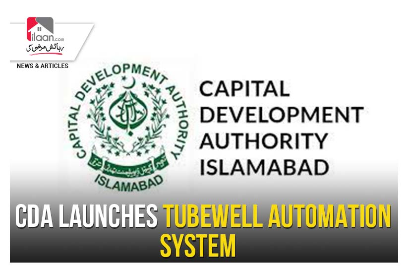 CDA launches tubewell automation system