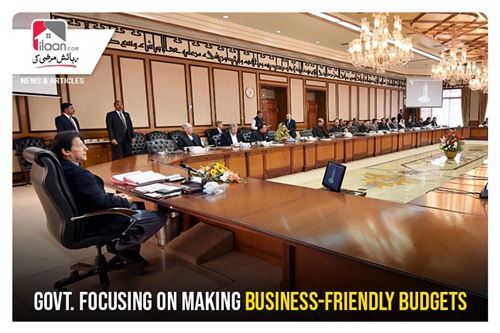 Govt. focusing on making business-friendly budgets