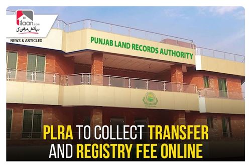 PLRA to collect transfer and registry fee online