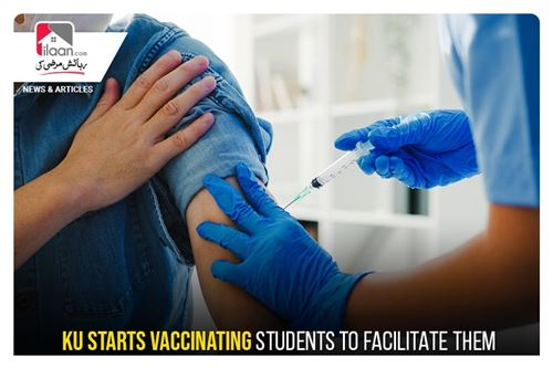 KU starts vaccinating students to facilitate them