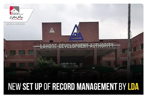 New set up of Record Management by LDA