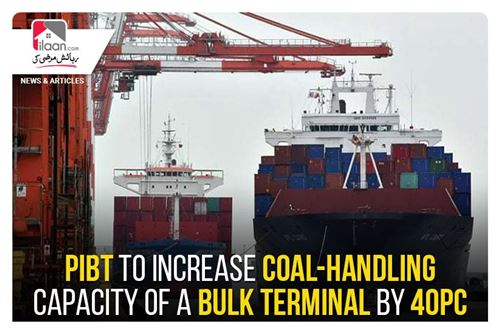 PIBT to increase coal-handling capacity of a bulk terminal by 40pc