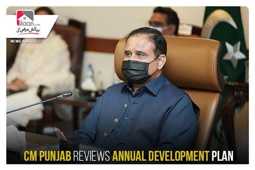 CM Punjab reviews annual development plan
